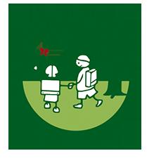 Grundschule Bruno Taut Logo