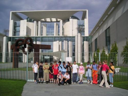 Bruno Taut Grundschule: Besuch im Kanzleramt
