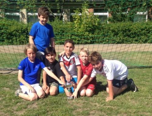 13. Fußballturnier der Klassen 3 – 4
